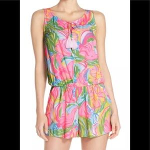 Lilly Pulitzer Romper Tyler Print